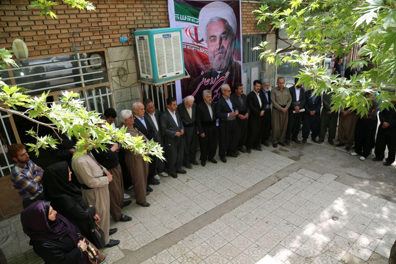 افتتاح ستاد مرکزی دکتر روحانی در پاوه/کرمانشاه