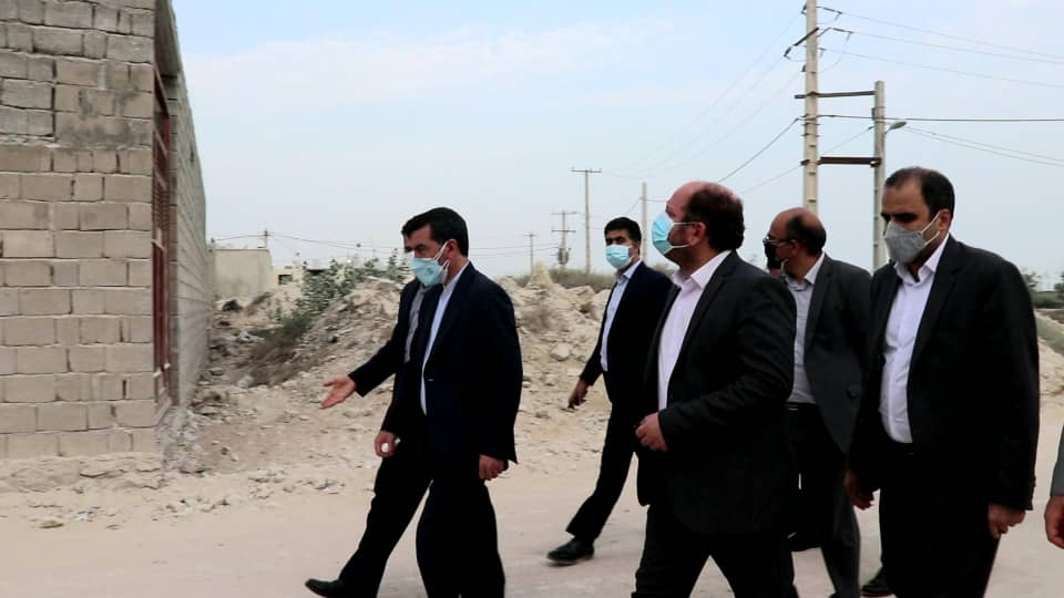 بازدید علی درویش پور از پروژه های قشم