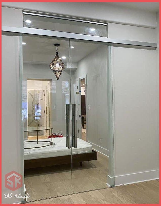 پارتیشن شیشه ای + شیشه کالا