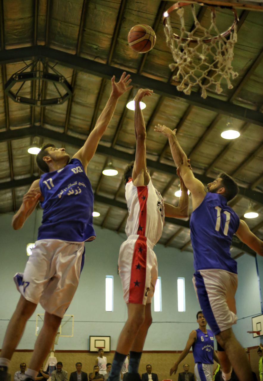 فینال مسابقات بسکتبال سه به سه در استان کرمان