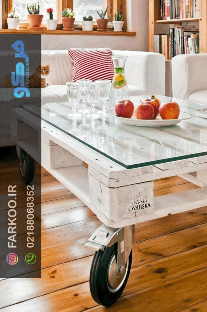 صنایع آینه و شیشه فرکو + شیشه رومیزی
