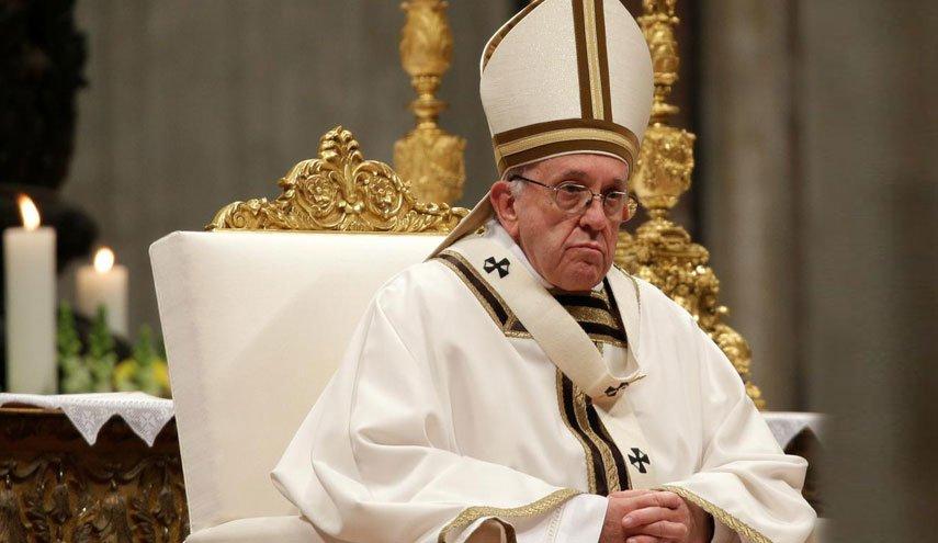 پاپ به کرونا آلوده نشده است