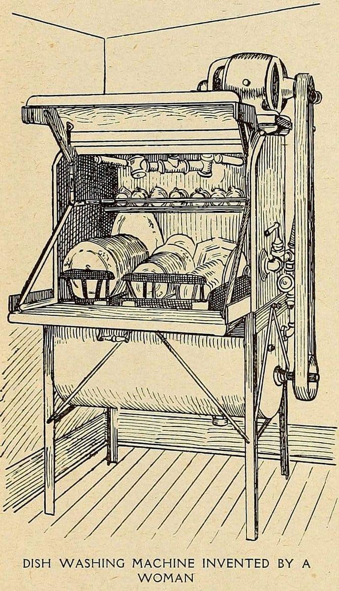 Josephine-Garis-Cochrane-Dishwasher-1908