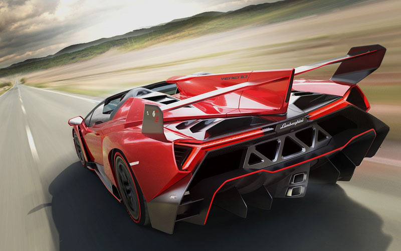 خودروی لامبورگینی Veneno Roadster