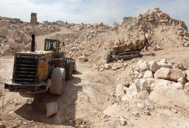 برداشت سالانه ۹ میلیون تن مواد معدنی در استان ایلام