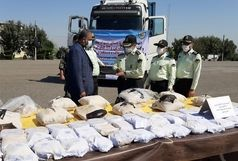 درگیری مسلحانه پلیس با قاچاقچیان مواد مخدر / کشف یک تن و ۹۹ کیلو مواد افیونی در جنوب شرق