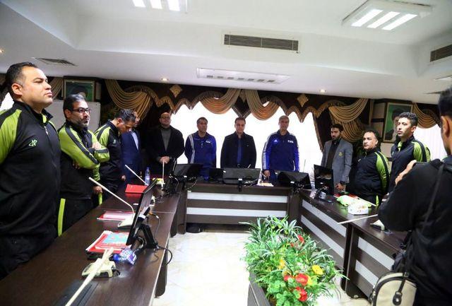 برگزاری مراسم اختتامیه کلاس Bمربیگری فوتبال آسیا
