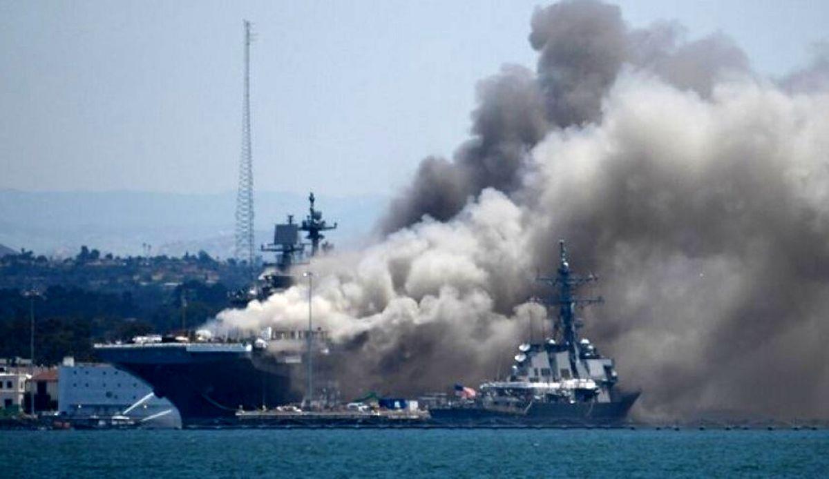 انفجار کشتی در چین دو کشته بر جای گذاشت