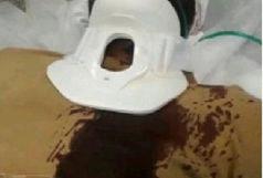 کتک خوردن یک روحانی از 9 جوان / 3 نفر از ضاربان دختر بودند