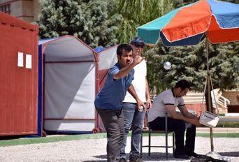 مسابقه پتانک (بولس) خبرنگاران آذربایجانغربی به مناسبت روز خبرنگار