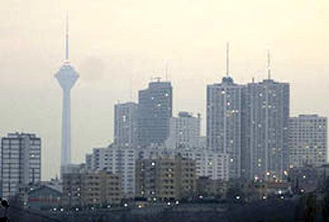 هوای پایتخت در شرایط ناسالم