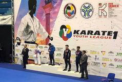 زارع مدال برنز لیگ جهانی جوانان را کسب کرد