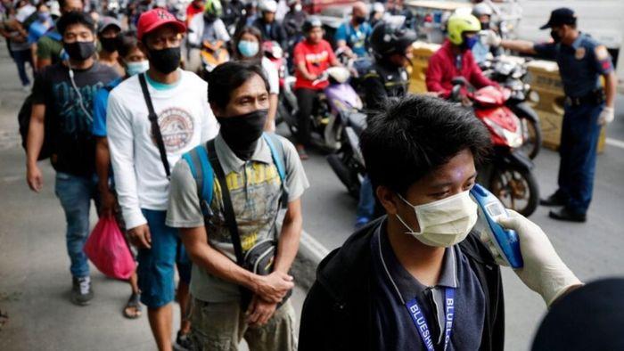 فوت یک نفر در فیلیپین با ضرب گلوله بخاطر نزدن ماسک