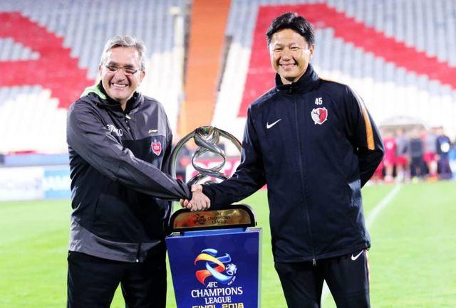 عکس یادگاری برانکو و ایوا با جام قهرمانی