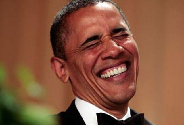 تمسخر پرتره رسمی اوباما در شبکه اجتماعی+عکس