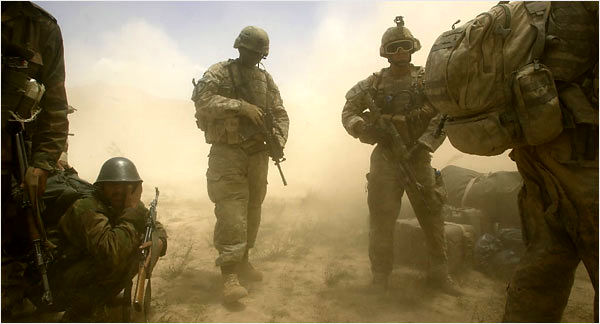 پنج هزار نظامی آمریکا، افغانستان را ترک میکنند