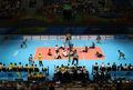 حضور ورزشکار قم در اردوی تیم ملی والیبال نشسته ایران