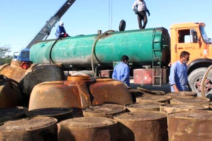 کشف 55 هزار لیتر نفت و گاز قاچاق در جنوب تهران