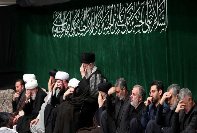 مراسم عزاداری شب تاسوعای حسینی (ع) برگزار شد