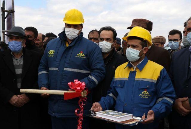 آغاز عملیات اجرایی گازرسانی به ۳۸ روستای شهرستان خوی