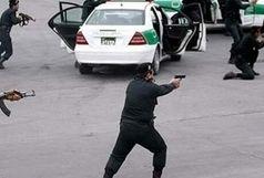 درگیری هولناک پلیس با سارقین خودرو در تهران + فیلم