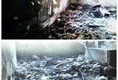 آتش سوزی جان زن 43 ساله را گرفت