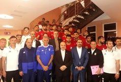 پاداش پیروزی تیم ملی ایران مقابل مراکش توسط دکتر سلطانیفر نقدا پرداخت شد