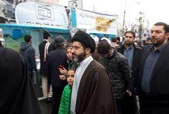 فرزندان رهبری در جمع راهپیمایان تهرانی حضور پیدا کردند