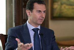 بشار اسد: اسرائیل کاری کرد که بالگرد نظامی روسیه سقوط کند