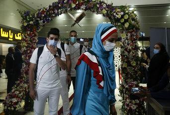 بدرقه کاروان ورزشکاران ایران به المپیک توکیو