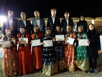 تیم بانوان ایلام قهرمان جشنواره بین الملی بازیهای بومی محلی گرمسار شد