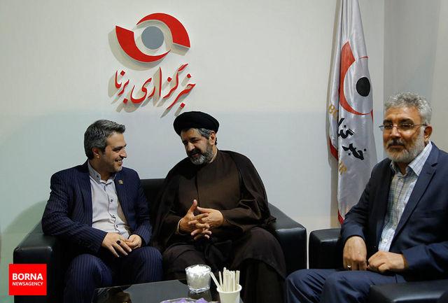 سخنان طه هاشمی در غرفه خبرگزاری برنا/ ببینید