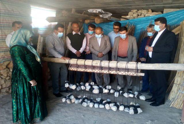 احیای هنر منسوخ شده نی چیت بافی در بخش بوستان
