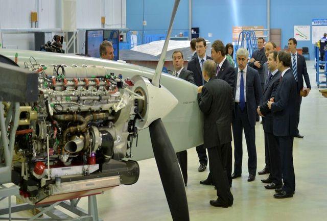تولید اولین پهپاد ضربتی سنگین در روسیه