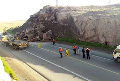 انسداد محور حمیل- ایلام به علت ریزش تونل