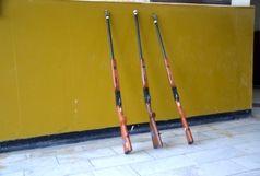 کشف 3 قبضه سلاح شکاری غیرمجاز در لنگرود