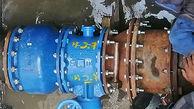 تعویض شیرآلات و اتصالات فرسوده خط انتقال 15 خرداد