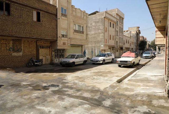 دسترسی به خیابان شبنم با تخریب دیوارهای کوچههای صبا میسر شد