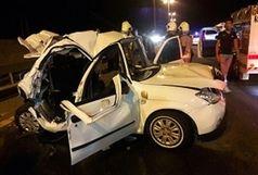 ۲ تصادف و سه کشته، در آزادراه زنجان به قزوین