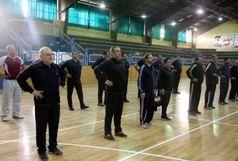 برگزاری همایش صبحگاهی ویژه مدیران در آغازین روز از هفته تربیت بدنی و ورزش