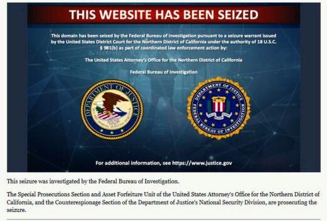 آمریکا ۲۷ دامنه وب سایت ایران را توقیف کرد
