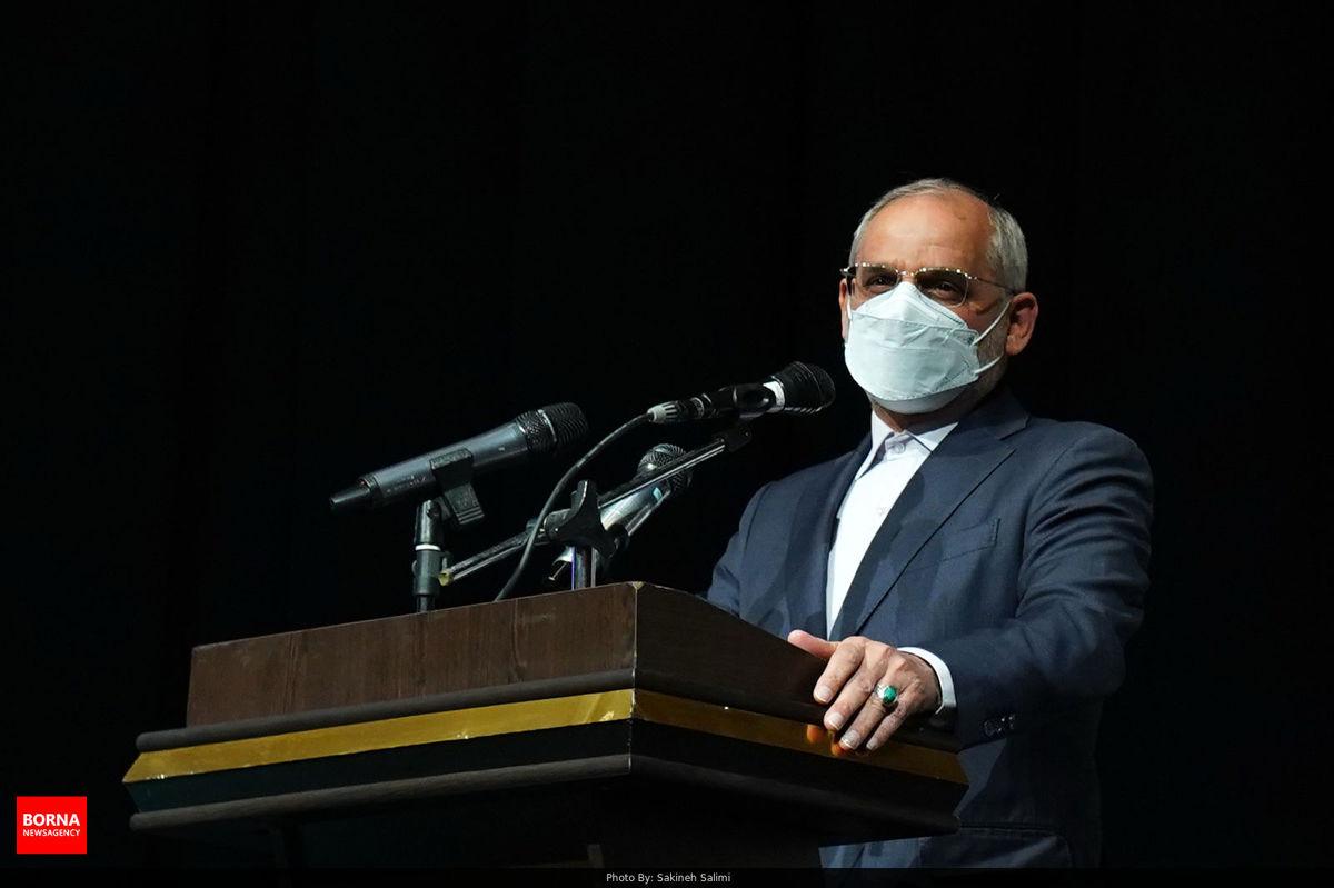 پیام تشکر حاجی میرزایی از وزیر بهداشت، درمان و آموزش پزشکی