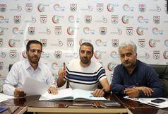 قرارداد کادر فنی و بازیکنان جدید علم و ادب در هیئت فوتبال ثبت شد
