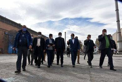 سفر مدیر عامل ایران خودرو به استان مرکزی