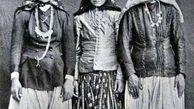 زیبایهای طبیعی دختران پولدار دوره قاجار+عکس