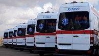 ۴ آمبولانس مجهز به بیمارستانهای نهاوند تحویل شده است