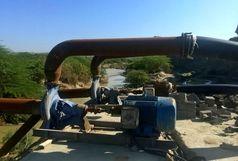 توقیف شش الکتروپمپ در رودخانه جگین شهرستان جاسک