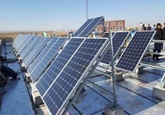 صدور مجوز ۷۱ مولد احداث نیروگاه خورشیدی در آذربایجانغربی