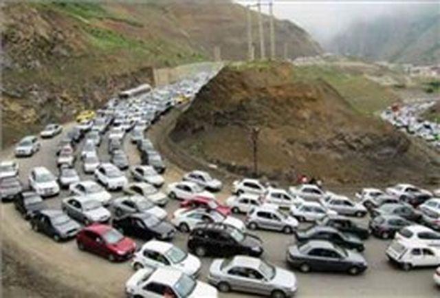 محدودیت های ترافیکی پایان هفته در جاده های استان البرز
