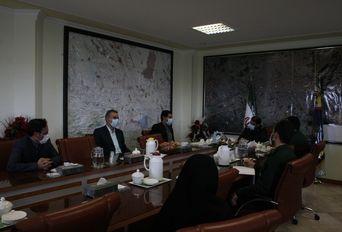 دیدار ریاست هیئت فوتبال استان کرمان با فرمانده سپاه ثارالله استان کرمان